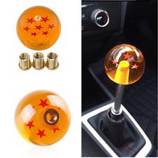 Dragon ball Z rare custom 54mm shift knob 7 star Adapters Universal Fit Most Car
