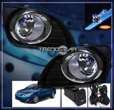 2010 2011 TOYOTA CAMRY BASE LE XLE JDM BUMPER DRIVING FOG LIGHT LAMP+BULB+SWITCH