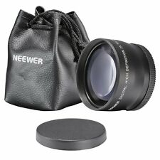 New 55mm 2X Telephoto Lens for Canon Nikon Sony Pentax Olympus DSLR Camera