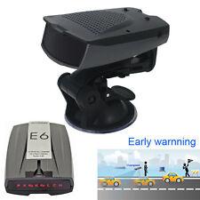 E6 Car OverSpeed Early Warning Radar Laser Detector X K Ku Ka Voice Safety Alert