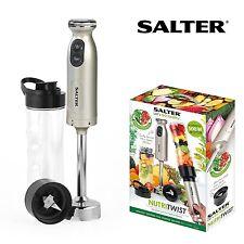 Salter NutriTwist SMOOTHIE MAKER Fruit Soup HAND BLENDER & Sports Bottle EK2187