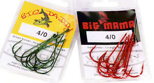 VISION BIG DADDY PIKE / PREDATOR HOOKS ( NOW DISCONTINUED)