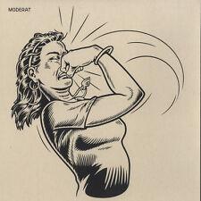 MODERATA - moderata (1lp vinile, Gatefold) 2009 Monkeytown/Bpitch/bpc200 NUOVO