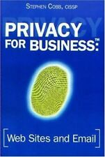 Privacy for Business: Web Sites and Email