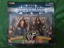 1998 Jakks Pacific WWF Wrestlemania 2TUFF3 Steve Austin & Undertaker Set (New)