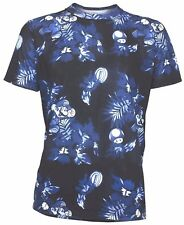 Super Mario Nintendo Hawaiian Floral Sublimated T-Shirt - Men's XXL - New w/Tags