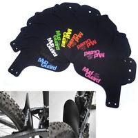 1Pair bicicleta más ligera guardabarros de los protectores de neumáti*ws