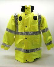 More details for ex police hi vis waterproof jacket coat yaffy security vehicle patrol duty work