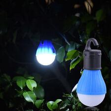 3 LED Camping Tent Light Bulb Outdoor Portable Hanging Fishing Lantern Lamp