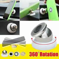 Universal 360°Magnetic Support Cell Phone Car Dash Holder Stand Mount For Mobile