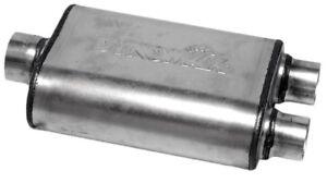 Exhaust Muffler-Ultra Flo Welded Universal Muffler Dynomax 17228