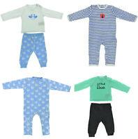 4er Set Baby Langarm Body Strampler Bio Baumwolle Pyjama Mädchen Schwan 62 - 68