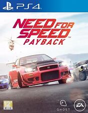 Need for Speed Payback (English/Chi Ver) English Voice for PS4 Sony Playstation4