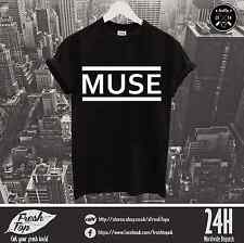 Muse Logo T Shirt Festival Tour Music Rock Band The 2nd Law Origin of Symmetry