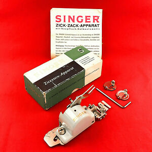 SINGER SF-701 ZigZagger Low Shank ZigZag Attachment Featherweight 222 221 201
