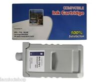 PFI-701 Blue Ink Cartridge Compatible for Canon Printer iPF 8000 9000 8100 9100