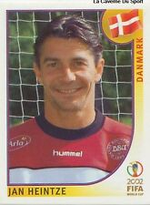 N°085 JAN HEINTZE # DENMARK DANMARK PANINI WORLD CUP JAPAN 2002 STICKER