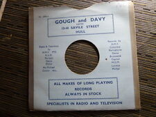 "78 rpm 10"" gramophone record CARD SLEEVE / GOUGH & DAVY , hull"