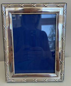 Vintage Carrs of Sheffield Silver Plated Photo Frame - Great Condition