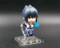 Naruto Sasuke Uchiha ShippudenNendoroid PVC Figure Toys Collection In Box 10cm