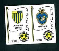 Fig. Calciatori Panini 1979-80 N.565! Scudetti Juventus Stabia/Marsala! Nuova!