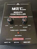 MRTaudio Breath Controller, (no headset). Yamaha MIDI Breath Controller
