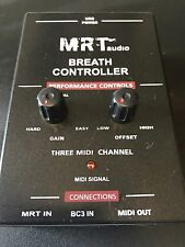 MRTaudio Breath Controller, (no headset). Yamaha MIDI Breath Controller