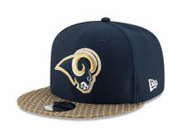 New Era 950 Hat Men Women One Size Fits Most Los Angeles Rams Navy Blue Gold