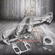 T304 Racing Sport Manifold Exhaust Header For Mazda 03-10 RX-8 RX8 Renesis 1.3L