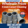 "Upholstery Wand 4 x Carpet Cleaning Vacuum Hose Cuffs 2"" For Sale"