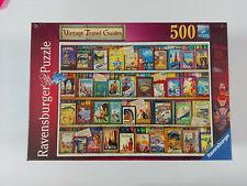 Ravensburger VINTAGE TRAVEL GUIDES 500 piece puzzle