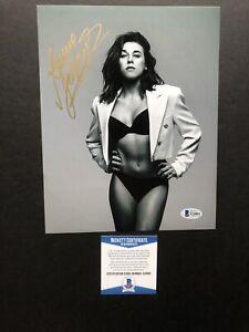 Joanna Jedrzejczyk autographed signed 8x10 photo Beckett BAS COA UFC Sexy Hot
