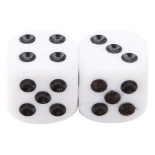 2pcs Set ABS Russian Dice - Highly  Casino Dice Festival Party Show YU