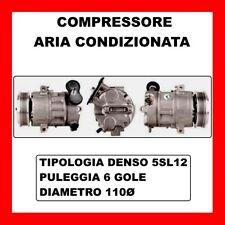 COMPRESSORE ARIA CONDIZIONATA FIAT GRANDE PUNTO-PUNTO EVO VAN DA 2005 55703917