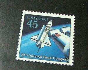 US Stamp Scott# C125 Space Shuttle 1989 MNH H206