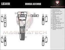 Fits Honda Accord 4DR Sedan 2001-2002 Large Wood Dash Trim Kit