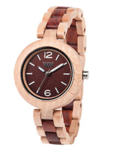 WEWOOD MIMOSA WATCH BEIGE-BROWN ECO FRIENDLY WOODEN WOMEN'S WATCH