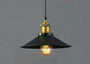 Metal Pendant Light, Kitchen, Restaurant Pendant Light, Modern, Vintage, 1x Bulb
