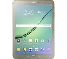 "Original Samsung Galaxy S2 T713 8"" Tablet 32GB 3GB Ram Wifi 8MP Cam oro Reino Unido"