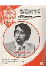 Genii The International Conjuror'S Magazine July And August 1975 Issues