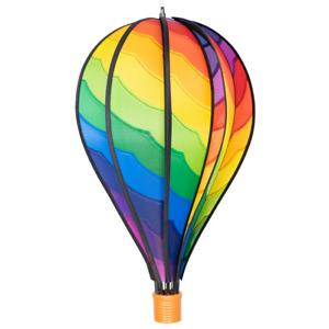 CIM Windspiel Heißluftballon Spiral Ballon:Ø28cmx48cm Gartendeko Deko