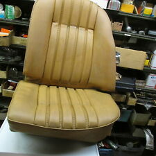 Rover 3500S, P6 Rear Seat Beigh Box pleat US NADA Left Rear