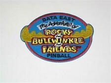 Rocky and Bullwinkle Data East Pinball Promotional - Design Team Patch