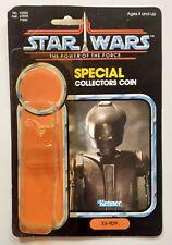 Star Wars Vintage POTF EV9-D9 Kenner 1985 Original Cardback and bubble
