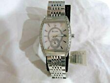 Bulova Diamond 96R50 Wrist Watch for Women all stainless steel diamond bezel