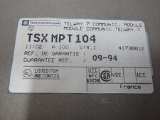 TSXMPT104        - TELEMECANIQUE -      TSXMPT 104 / MODULE COM. TELWAY 7   USED