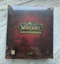 World of Warcraft Mists of Pandaria Collectors Edition factory sealed Mint OOP