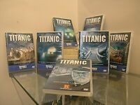 TITANIC the history of set 7DVD varius titles and searches DOCUMENTARY discovery