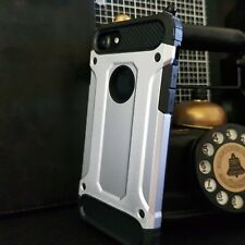 Apple iPhone 7 Heavy Urban Metal Ballistic Rugged Layer Silver Alpha™ Case