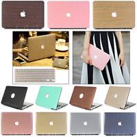 "2in1 PU Leather Glitter Matte Hard Case Cover for MacBook Air Pro 11"" 12""13"" 15"""